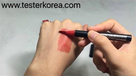 Missha Watery Tint testerkorea missha color ade marker tint