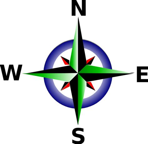 Compass Clipart compass clip at clker vector clip royalty free domain