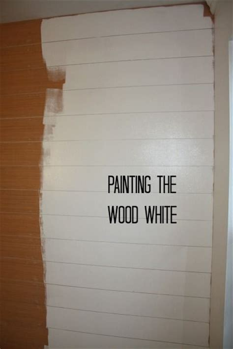 Shiplap Look Paneling How To Hang Shiplap Paneling The White Pine And