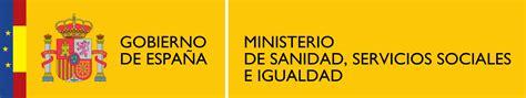 ministerio de sanidad servicios sociales e igualdad file logotipo del ministerio de sanidad servicios