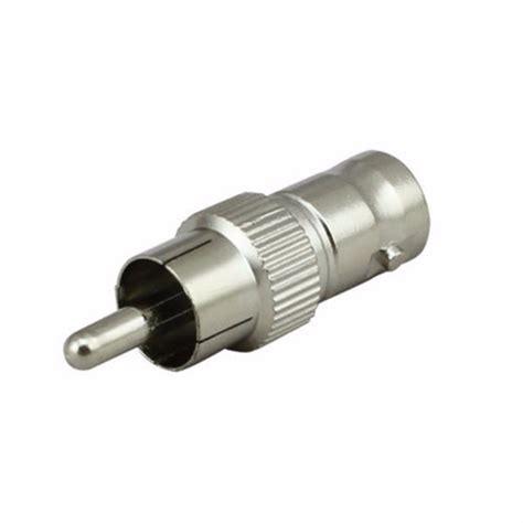 Bnc To Rca Adapter Sambungan Connector Coupler rca to bnc adapter coax connector coupler