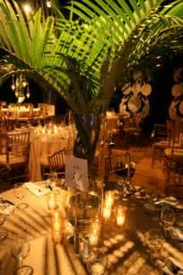 palm tree centerpieces non floral centerpieces for your south florida wedding
