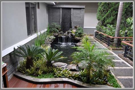 tips membuat kolam ikan hias  keindahan rumah