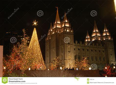 imagenes navidad lds la navidad en cuadrado del templo imagenes de archivo