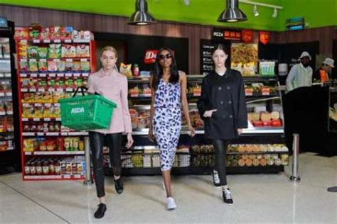 George At Asda To Promote Home Grown Fashion by Asda Recreates Chanel S Chic Supermarch 233 Bt