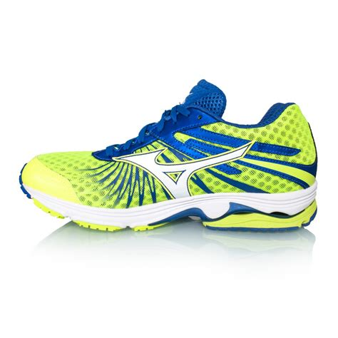 Mizuno Mens Wave Sayonara 4 Blue mizuno wave sayonara 4 mens running shoes safety yellow sportitude