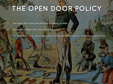 What Was The Open Door Policy by Opium War By Danielle Leigh
