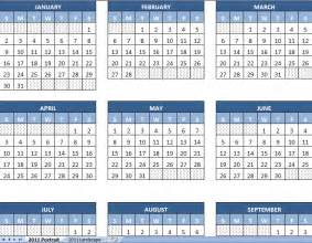 Year Calendar Template by Excel Calendar Template 2011 Yearly