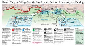 us map of grand grand shuttle map grand canyonn national park
