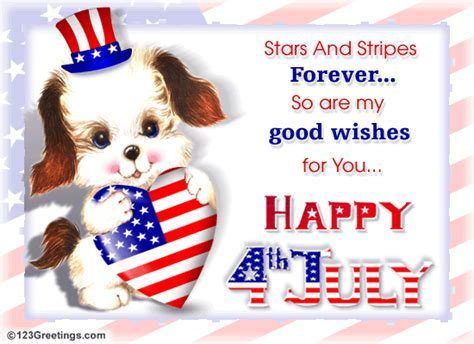 Stars And Stripes Forever  Free Happy Fourth of July