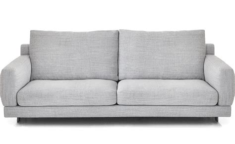 sofa seat depth elle 2 seat sofa hivemodern com