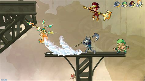 couch multiplayer pc ps4 multiplayer battler brawlhalla gets cross play with pc