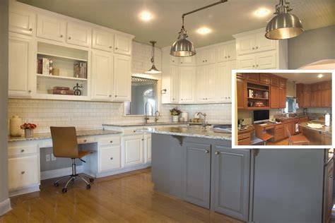 Painting Kitchen Cabinets Before Or After Changing The How Do You Paint Kitchen Cabinets White