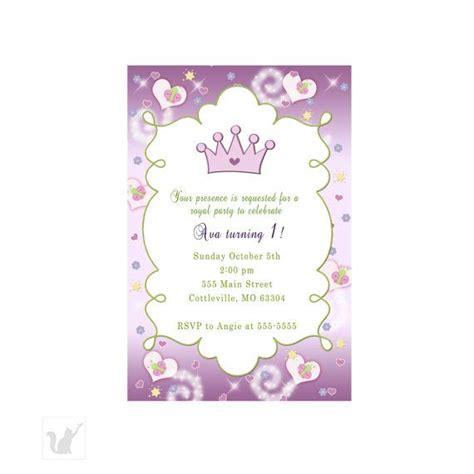printable birthday invitation cards princess princess birthday invitation card purple green butterfly