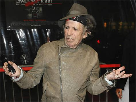 Keith Richards I Snorted My by Top Stories Of 2007 Boston
