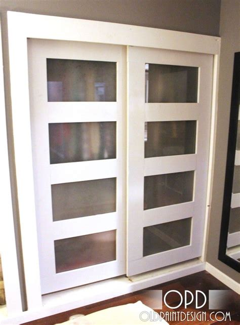 Sliding Closet Doors Diy Diy Sliding Closet Doors These Are Similar To What I Was Planning For Our Bedroom