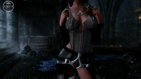 skyrim unp lingerie lingerie corset unp unpb remodel корсет арадии броня