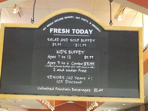 Alpharetta S Sweet Tomatoes Prices Picture Of Sweet Sweet Tomatoes Buffet Price