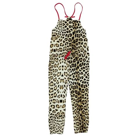 Jumpsuit Baby Pink Leopard roberto cavalli leopard print jumpsuit with pink straps and bow roberto cavalli