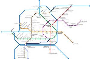 Vienna Subway Map by Vector Map Of The Vienna Subway By M A X A M On Deviantart