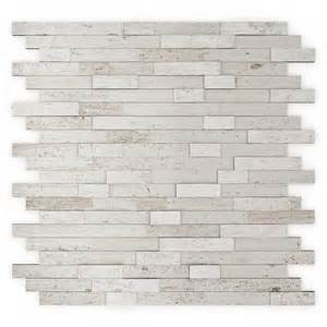 Easy To Install Kitchen Backsplash Inoxia Speedtiles Himalayan 11 75 In X 11 6 In Stone