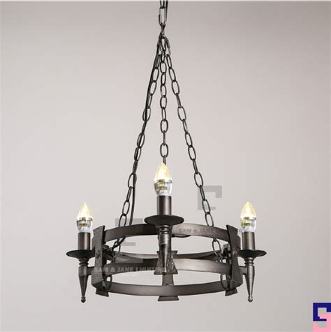 Black Iron Lighting Fixtures New Black Iron Rustic Chandelier Ceiling Fixture Contemporary Led Pendant Light