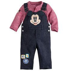 Set Overall Micky disney mickey mouse dungaree set for baby mickey mouse
