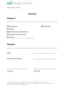 Muster Einladung Geschäftsessen Eigenbeleg Vorlage Muster Zum Eigenbeleg Erstellen