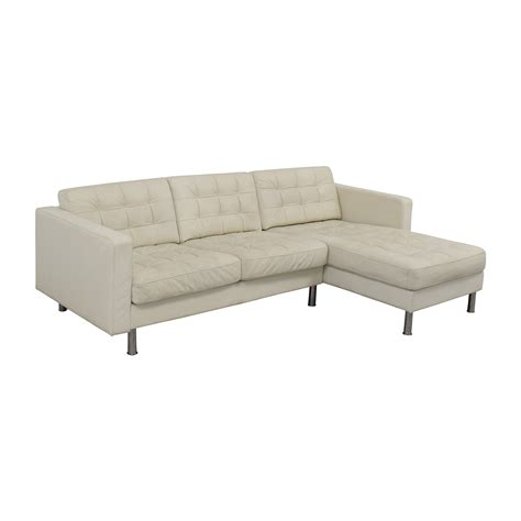 Ikea Leather Sectional Sofa 69 Ikea Ikea Landskrona Leather Sectional Sofas