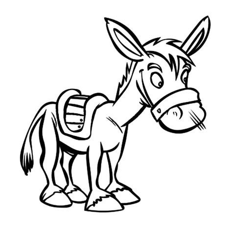 mexican donkey coloring page how to draw mexican donkey coloring pages color luna