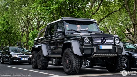 mercedes 6x6 mercedes g 63 amg 6x6 4 june 2014 autogespot