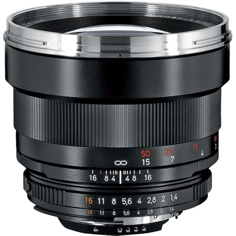 carl zeiss lens zeiss planar t 85mm f 1 4 zf 2 lens for nikon f mount