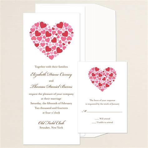 wedding invitation design red motif your wedding invitation and your wedding colors