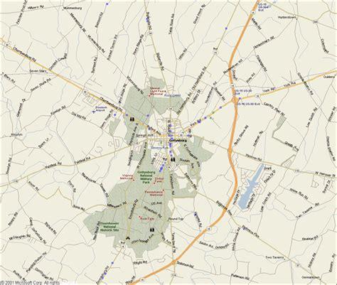 gettysburg map gettysburg map day 1 car interior design