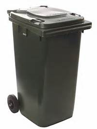 140Lt Mobile Garbage Bin Various Colours  Silverlock Online Quote
