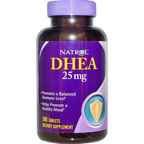 Suplemen Dhea natrol dhea 25 mg 300 tablets iherb