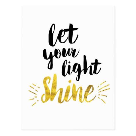 let your light so shine let your light shine postcard zazzle
