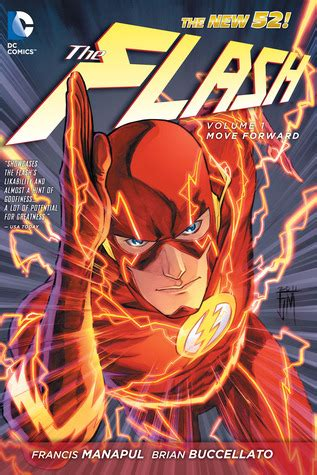 16 and with volume 1 books the flash vol 1 move forward by francis manapul