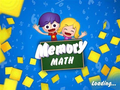 imagenes de niños jugando memoria memory math un juego de matem 225 ticas y memoria para ni 241 os