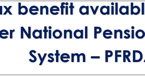 income tax section 80cc income tax benefit available under national pension system