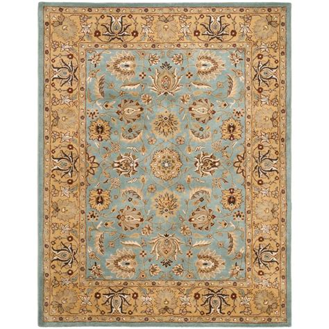 green and gold rug safavieh antiquity green gold 8 ft 3 in x 11 ft area rug at313a 9 the home depot