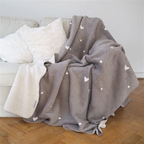 Flausch Decke by Kuscheldecke Quot Flausch Quot Grau