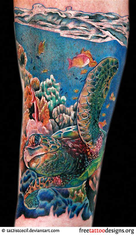 ocean life tattoo designs turtle tattoos polynesian and hawaiian tribal turtle designs