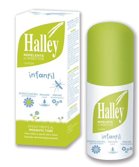 halley is a completely effective formula for repelling all kinds of insects mosquitoes