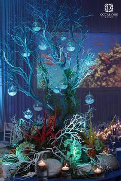 the sea centerpieces the sea centerpiece the sea theme