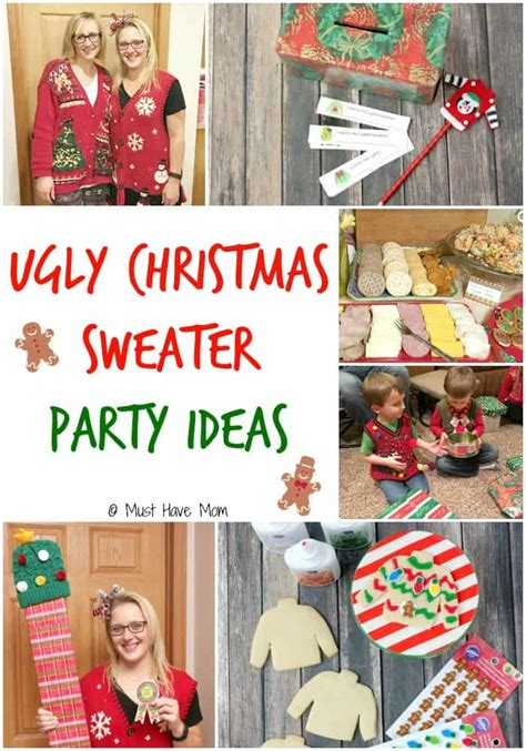 ugly christmas party ideas rewards how to host an sweater must