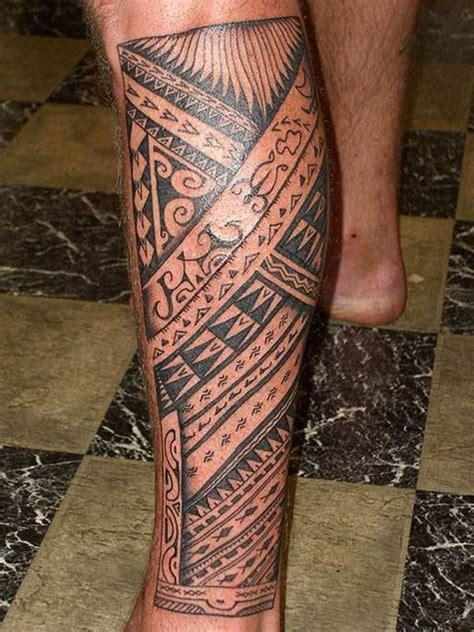 hawaiian leg tattoo designs 21 amazing hawaiian band tattoos