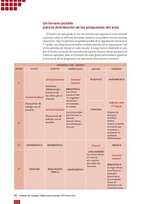 material para el docente practicas del lenguaje material para docentes primer ciclo