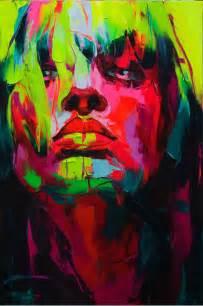 art colorful paint painting portrait woman image