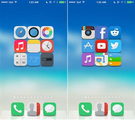 themes for ios apps theme thursday axla flaticons gusht and more
